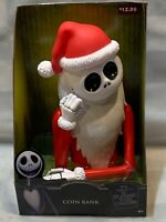 "SANTA JACK Coin Bank 9"" Plastic NEW Nightmare Before Christmas"
