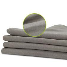 Silver Fiber Fabric EMI RF Shielding Conductive Blocking 4-Way Stretch Clothing