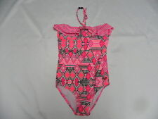 Roxy Girls I Love Pink One Piece Swimwear Pink Sz 10