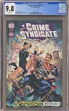 Crime Syndicate #2 CGC 9.8
