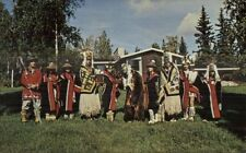 Chilkat Dancers From Haines Alaska AK Postcard
