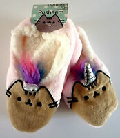 Einhorn Pusheen The Cat Damen Hausschuhe Slipper Socken Pantoffeln 36-37-38