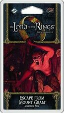 The Lord Of The Rings card game (LCG) Escape from Mount Gram Adventure Pack