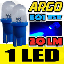 1 LED XENON BLUE 501 T10 W5W SIDELIGHT BULBS PEUGEOT 4007 4X4