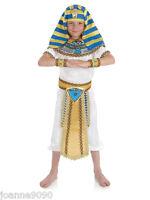 Boy's Boys Ancient Egyptian Pharaoh King Fancy Dress Costume History Book Week