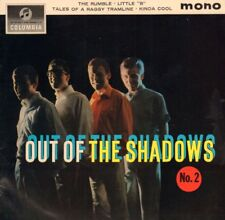 "The Shadows(7"" Vinyl)Out Of The Shadows No.2 EP-Columbia-SEG 8249-UK-19-Ex+/VG+"