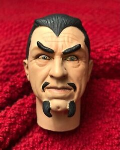 "SIDESHOW BELA LUGOSI WHITE ZOMBIE 1/6 HEAD ONLY FOR 12"" FIGURE LEGENDRE DRACULA"