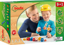 Baufix 1, 2, 3 Kit 27 Parts Bauset Wooden Toys Wood Construction game Numbers