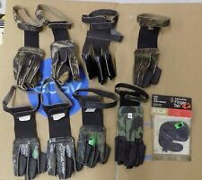 9pcs Assorted Kolpin & Others Finger Gloves / Tabs Unpackaged Unused