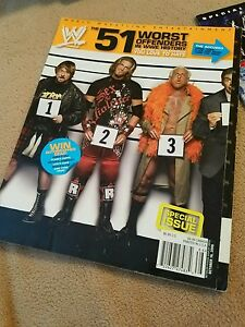 WWE 51 Worst Offenders Wrestling Magazine Piper Flair McMahon Edge