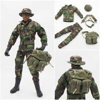 """SCALA 1//6 Urban Camo pantaloni giacca uniforme soldato militare per 12/"""" Action Figure"""
