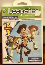 New Toy Story 3 Learning Game Cartridge LeapFrog Leapster LeapPad Explorer