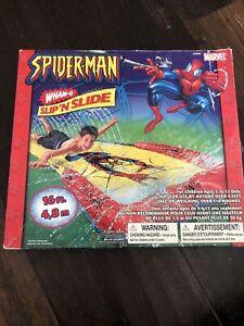 Marvel Spiderman Slip 'n Slide Wham-O Water 16 ft Game From 2003