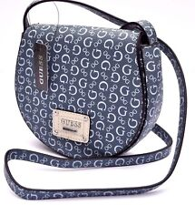 GUESS HIGHWAY MINI CROSS BODY Handbag BAG Messenger Jeans VACATION TRAVEL G Sign