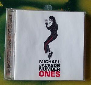MICHAEL JACKSON...NUMBER ONES   18 tracks.