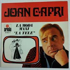 """Joan Capri La Moda Maxi Single 7"""" edición original del año 1970"""