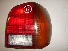 Luz trasera derecha (HELLA) 6N0945258 VW Polo 6N Año fab. 94-99 (negro)
