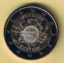 Bankwesen Münzen aus Luxemburg nach Euro-Einführung