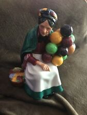 Royal Doulton Figurine The Old Balloon Seller  statue rare collectible HTF