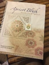 Apricot Blush Heirloom Quilt Pattern Book Santi Nuss Else De Bruin 2004