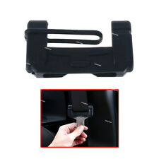 Car Safety Seat Belt Buckle Clip Black Anti-Scratch Cover Silicone Accessories