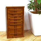 Toyooka Craft Wooden Stationery Fountain Pen Box Case Chest Collection Japan