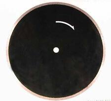 "BUTW 12"" black sintered diamond lapidary saw blade new"