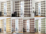 Modern Fusion Balmoral Check Duvet Cover Set / Lined Eyelet Curtains / Cushions