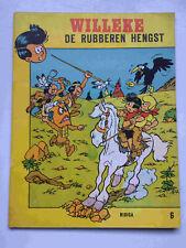 Willeke 6 - De rubberen hengst - plagiaat van Jommeke