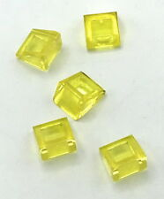 Lego 6x Slope Pente 2x2 3039 Trans Clear Transparent Yellowed