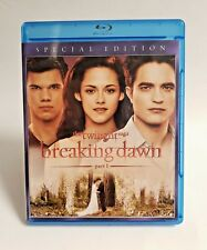 The Twilight Saga Breaking Dawn Part 1 Blu Ray 2011 Special Edition Wolf Vampire