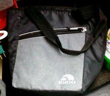 New listing Igloo ice lunch bag, custom grey and black