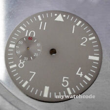38.9mm gray dial fit 6497 seagull movement Watch Case D13