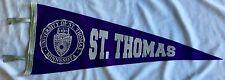 St. Thomas Tommies Wool Pennant
