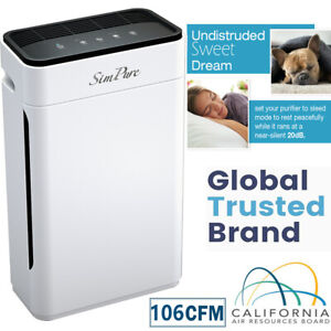 SimPure HEPA Air Purifier for Large Room up to 800 sq.ft Air Clean - HP8