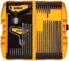 DEWALT Ratcheting T Handle Set 31 Piece Allen Wrench Tool Kit Hex Key Metric SAE