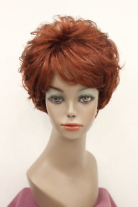 New Ladies Wigs Women's Wig Short Silver Grey Curly Natural Hair Wig
