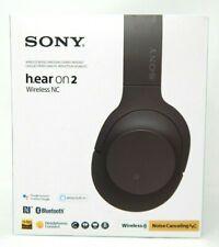 Sony - H900N Hi-Res Noise Cancelling Wireless Headphone Grayish Black (WHH900N/B