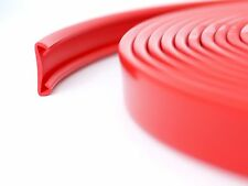 20m PVC Handlauf 40x8mm Treppenhandlauf Kunststoffhandlauf Gummi rot
