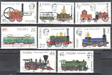 Poland  1976 - Locomotives - Mi.2427-34 - used