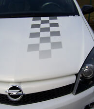 ASTRA-H OPC Nürburgring Zielflagge Aufkleber Haube 2160596 9269436