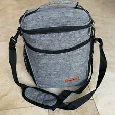 Large Insulated Lunch Bag Thermal Cooler Tote Lunch Box Picnic Storage