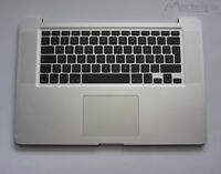 "TopCase Tastatur DE Layout QWERTZ Palmrest 15,4"" Apple MacBook Pro A1286 2010"