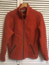 Ibex 100% Wool Full Zip Jacket Made In Usa Women's Medium