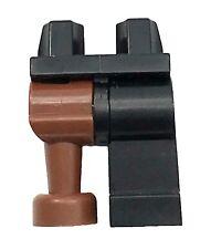 LEGO NEW PIRATE PEG LEG PANTS BLACK AND REDDISH BROWN LEGS PIECE