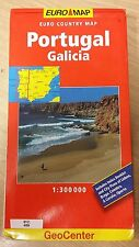 Portugal, Galicia: Euro Country: GeoCenter Map (M17)