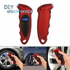 Tire Air Pressure Guage numeral Car Bike Truck Auto LCD Meter Tester Tyre US