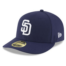 c43791ab New Era 5950 San Diego Padres HOME Low Profile Fitted Hat (LTNV) MLB Cap