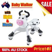 Black Baby Walker Ride On Toy Kids Bike Bicycle Music Light Push Scooter Toddler