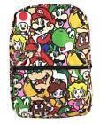 Nintendo Super Mario Brothers All Printed School Backpack Book Bag